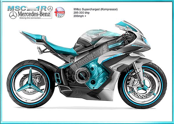 Mercedes Motorcycle 1