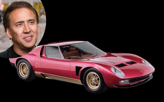Nicolas Cage – Lamborghini Miura SVJ