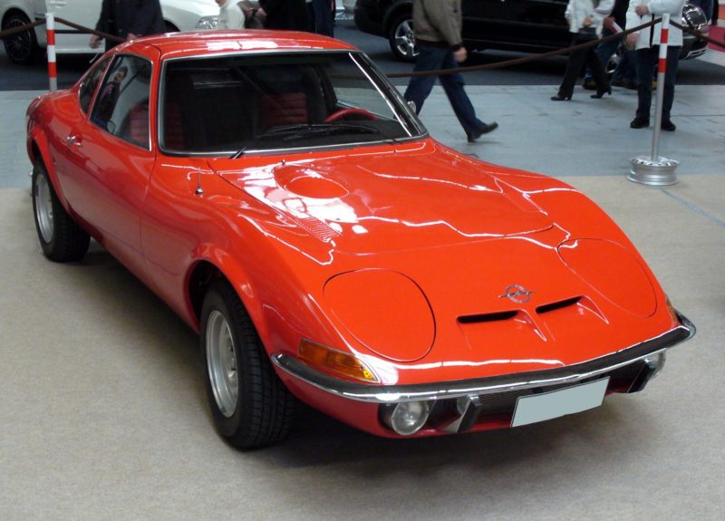 Cars With Pop-Up Headlights: Opel GT