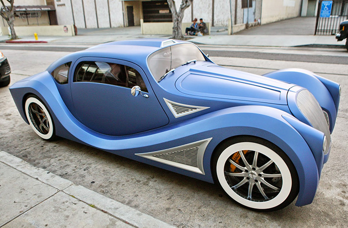 Celebrity Cars – Will I Am – Custom 1958 VW Beetle