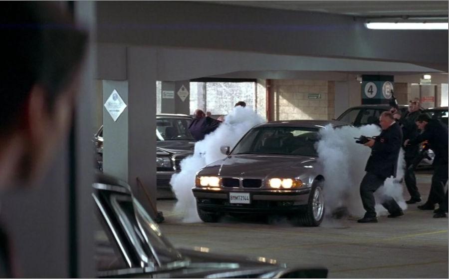 BMW 750iL Tomorrow Never Dies Bond Spy Car