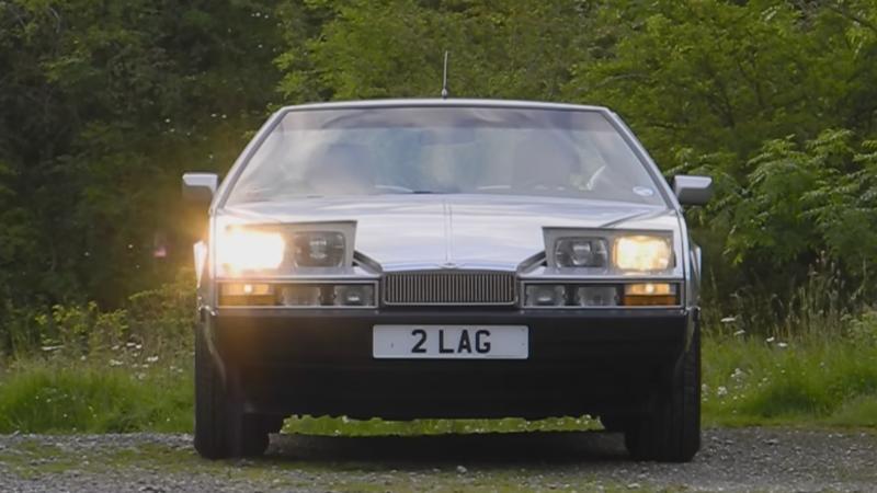 Cars With Pop-Up Headlights - Aston Martin Lagonda