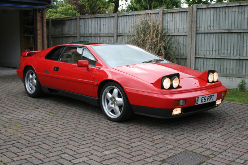 Cars With Pop-Up Headlights: Lotus Esprit
