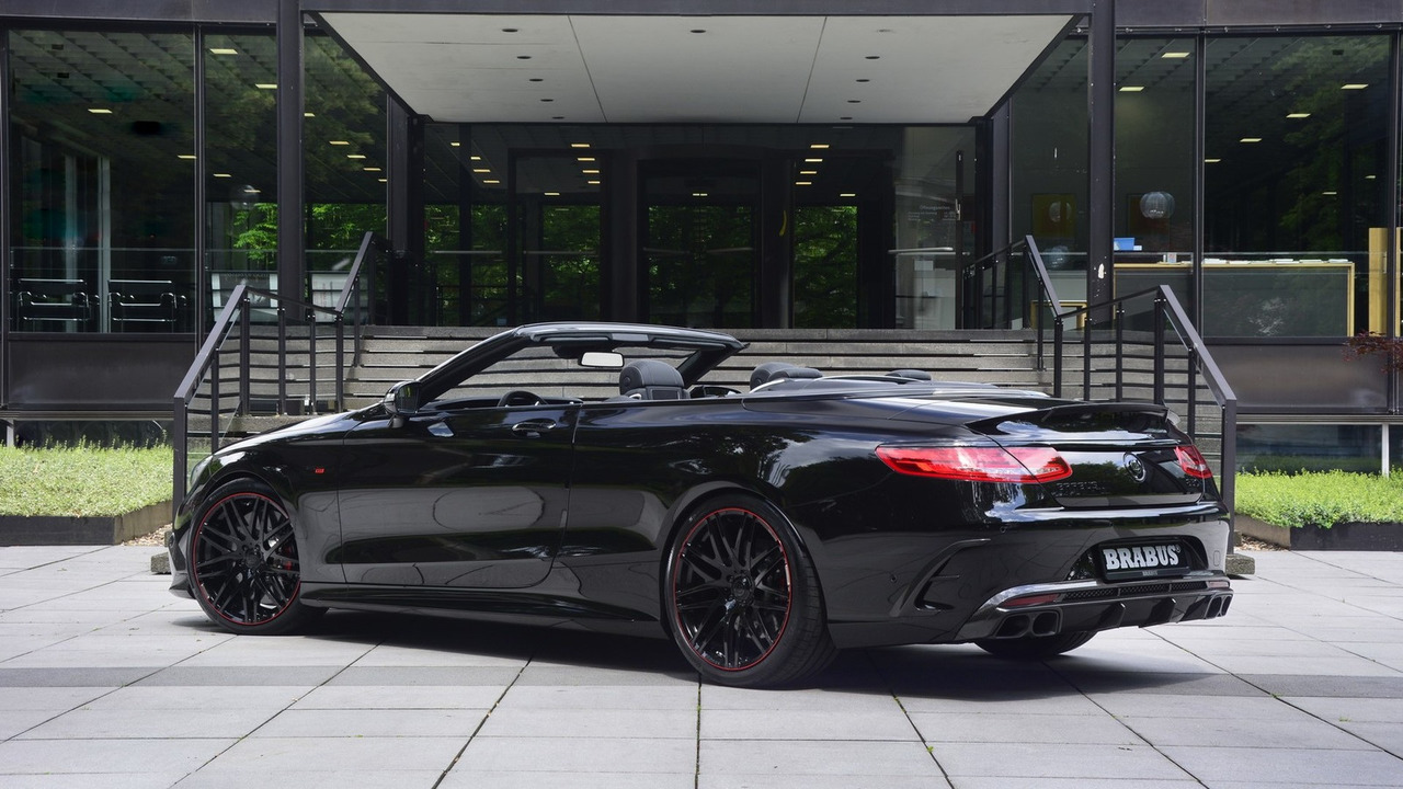 Mercedes Amg S63 Cabriolet By Brabus (2)