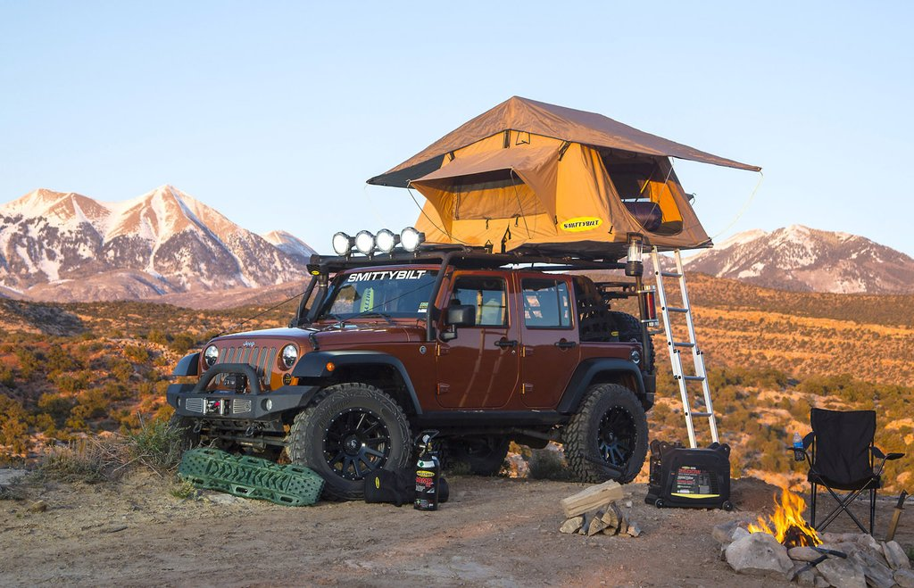 10 Top Roof Top Tent And Adventure Trailer Setups