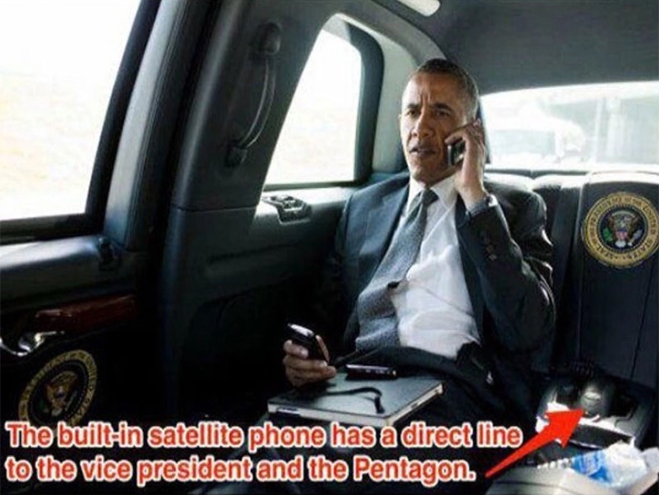 the Beast is the satellite phone with a direct line to the White House.