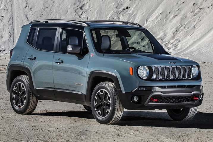 #1. 2016 Jeep Renegade