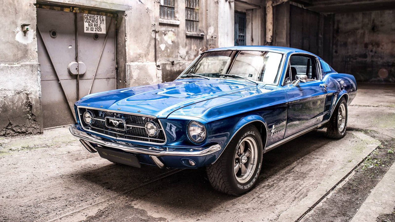 1967 ford mustang fastback receives a modern interior makeover. Cars Review. Best American Auto & Cars Review