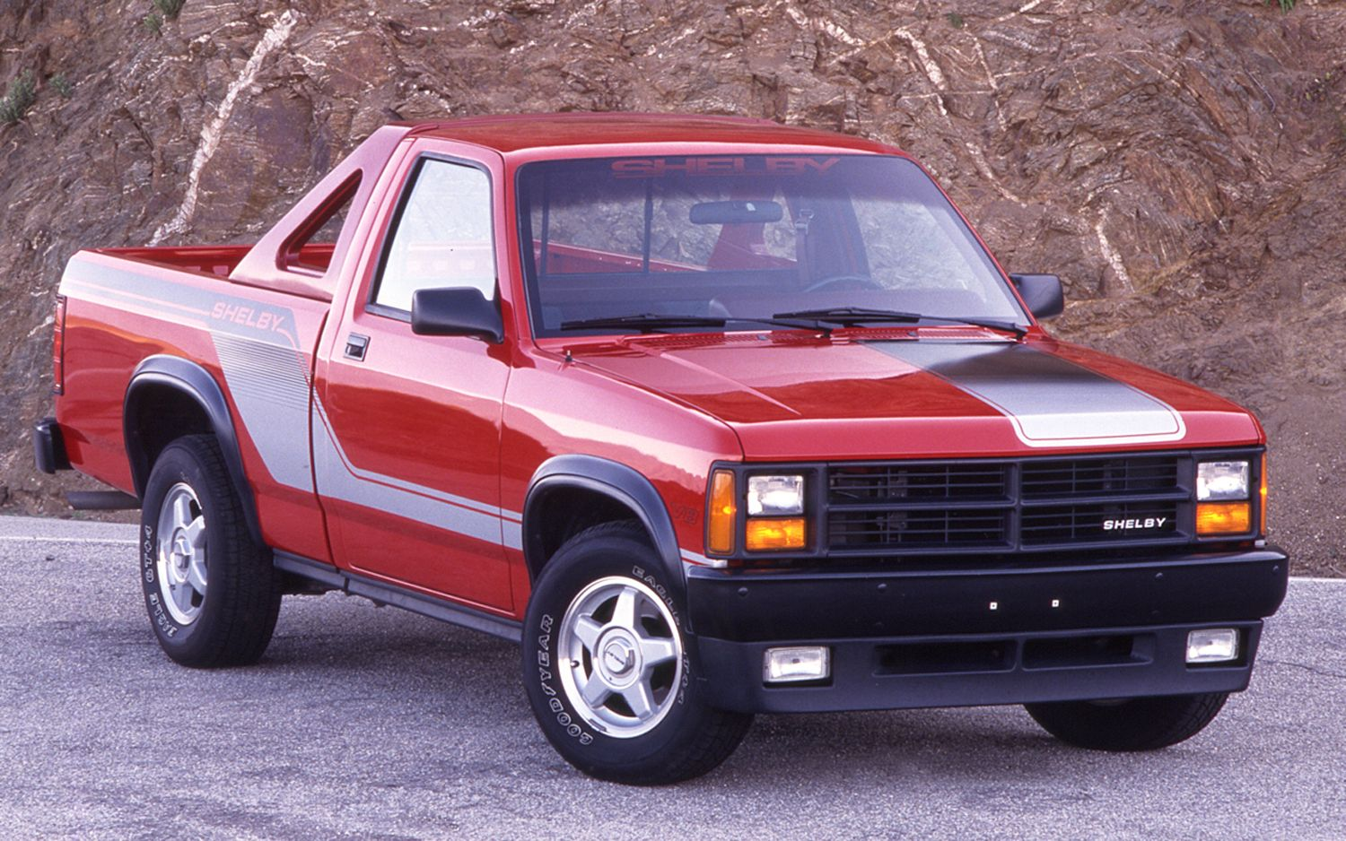 1989-dodge-dakota-shelby-front-view