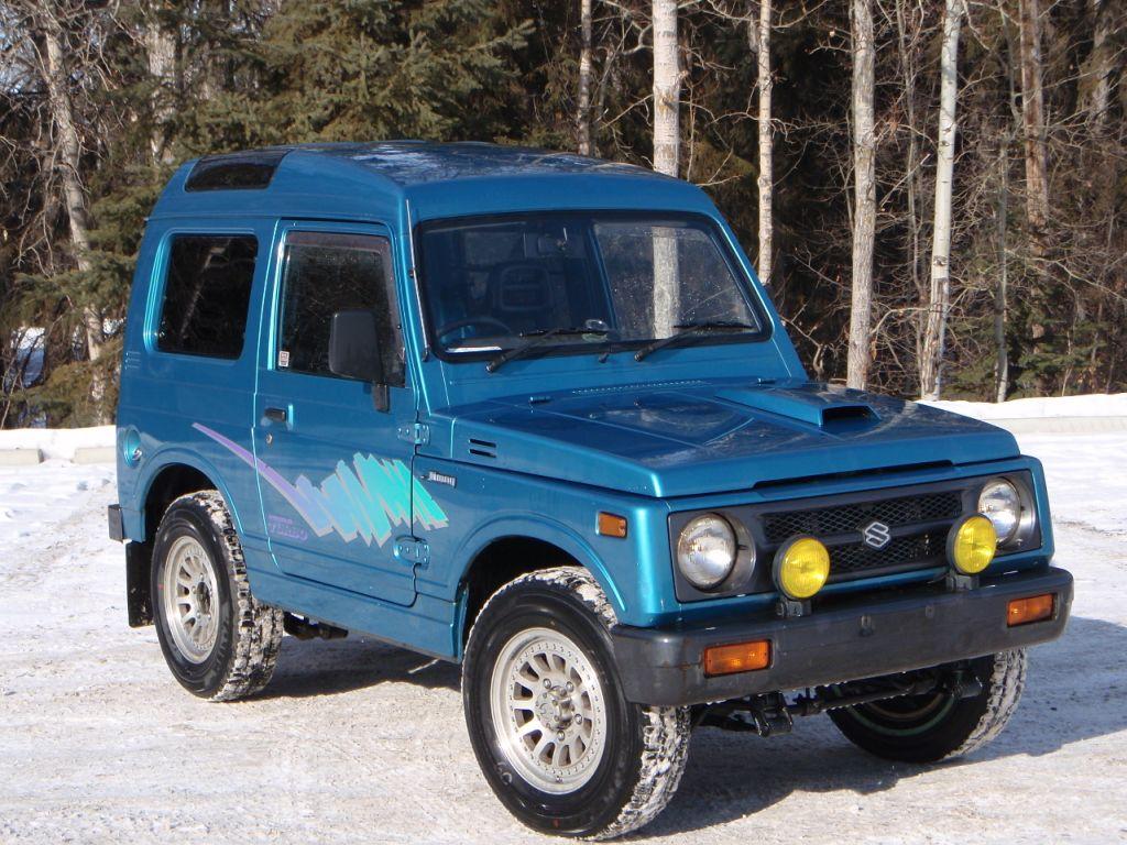 Badass Trucks & Cool SUVs - Suzuki Samurai