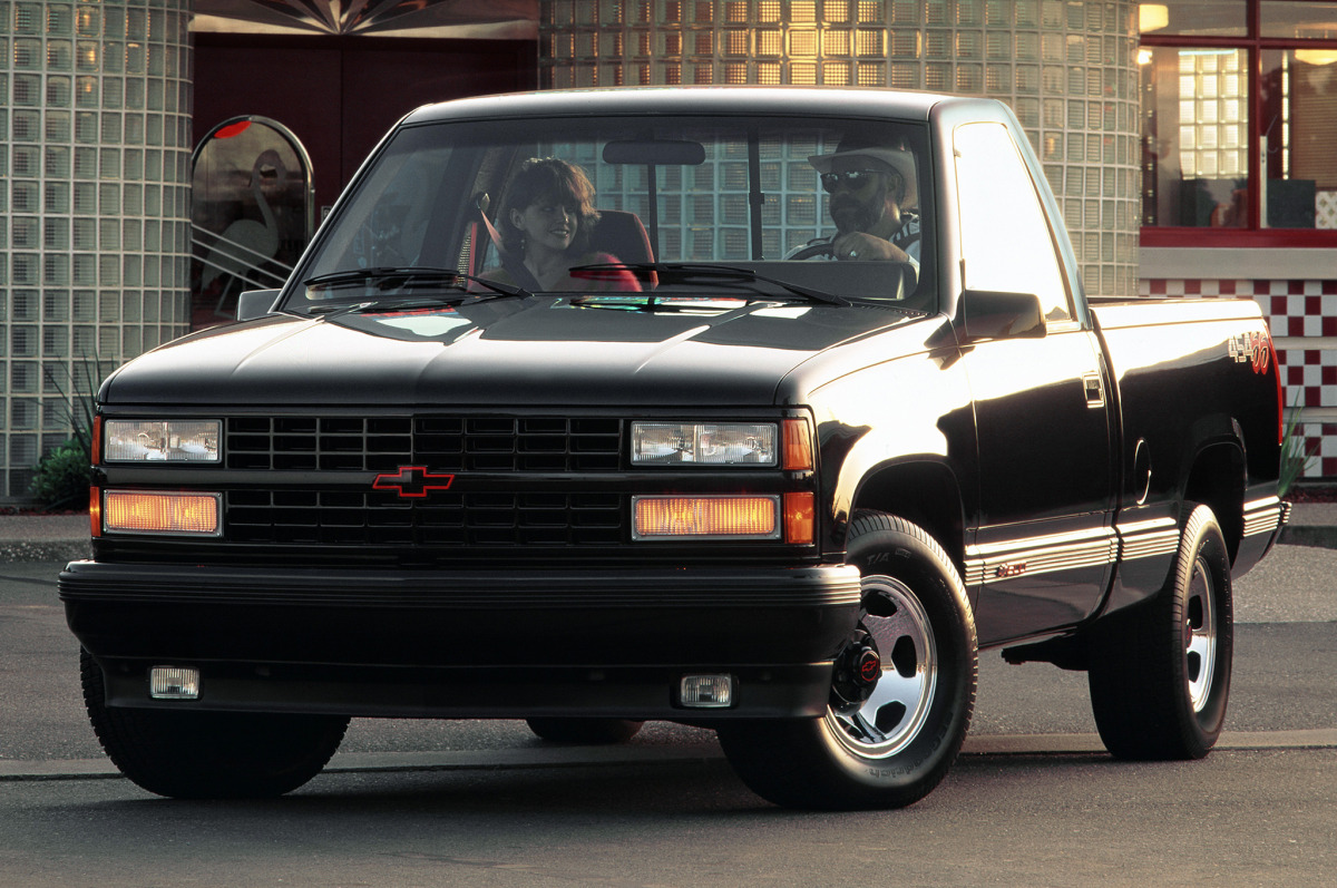 Badass Trucks & Cool SUVs - 1993-chevy-c1500-454