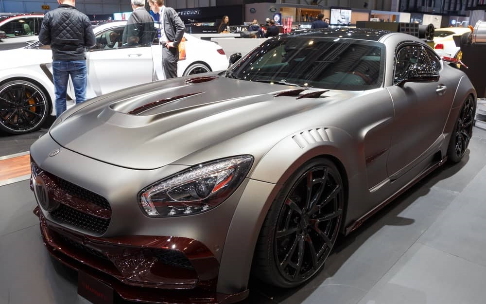 Mercedes Benz AMG GT Black Series