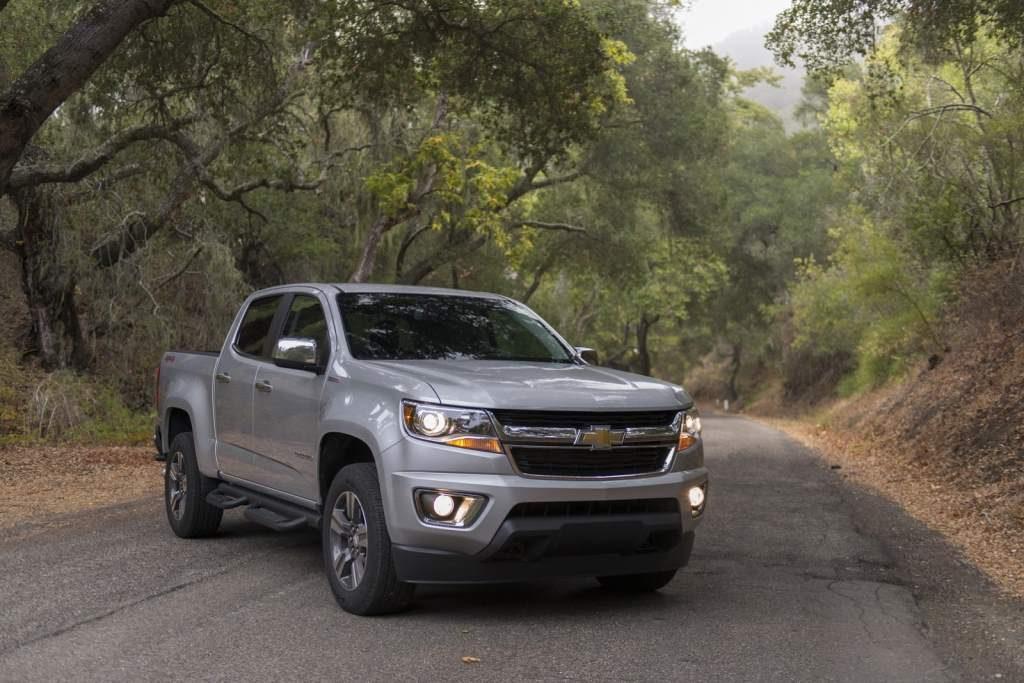 GM Repd The 2017 Chevrolet Colorado 3.6 V6 With, err, 3.6 V6