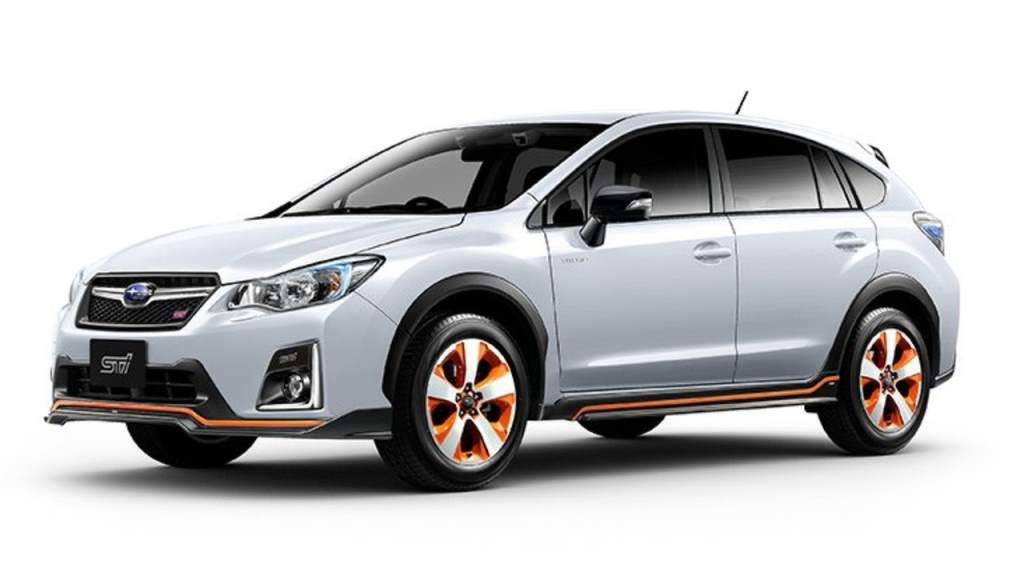 2017 subaru xv hybrid ts by sti could be the best xv hybrid ever. Black Bedroom Furniture Sets. Home Design Ideas