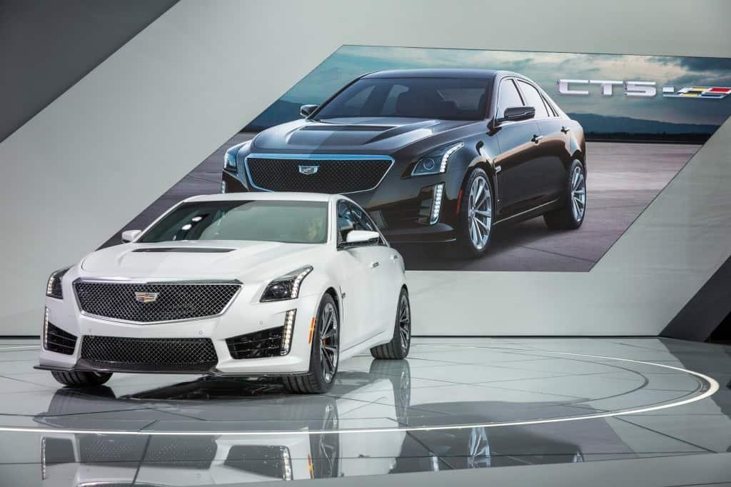 fastest american car - Cadillac CTS V