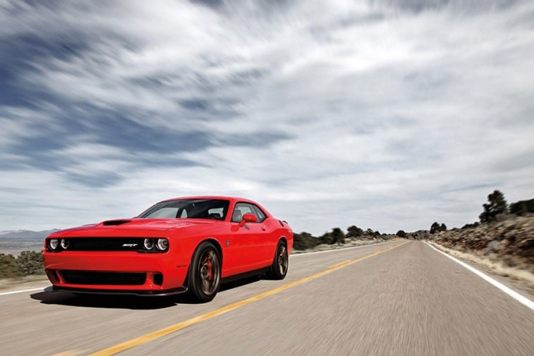 fastest american car- Dodge hellcat