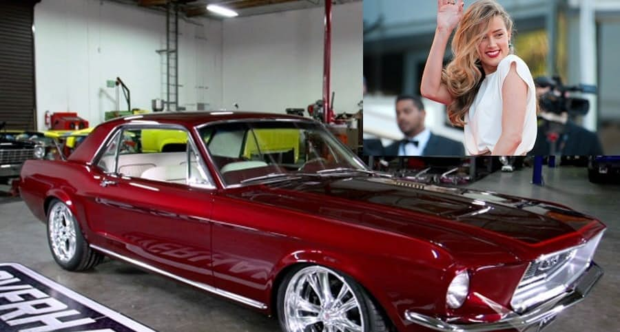 Hot Celebrities – Amber Heard's 1968 Mustang