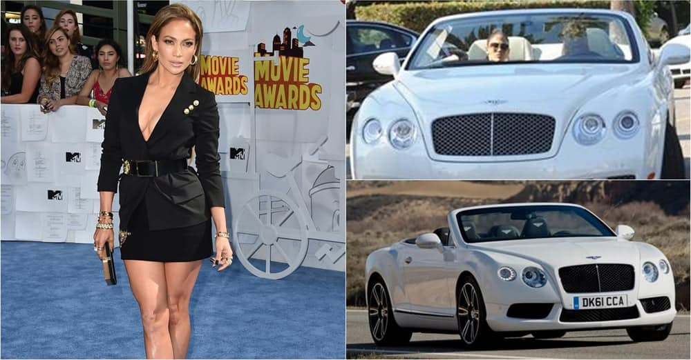 Jennifer Lopez's Bentley Continental GTC Convertible