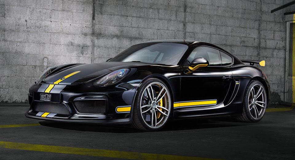 TechArt Formula IV Alloys Bring a Smart New Look to Porsche\'s Cayman GT4