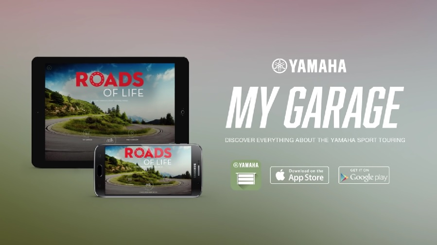 MyGarage App by Yamaha