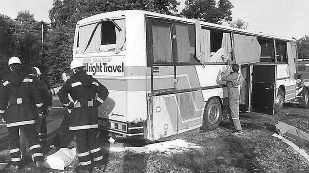 CLIFF BURTON accident