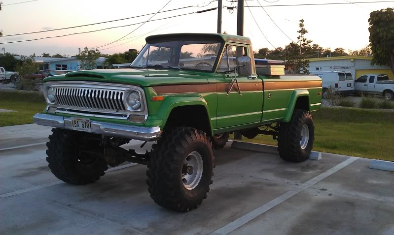 Badass Trucks & Cool SUVs - jeep j20