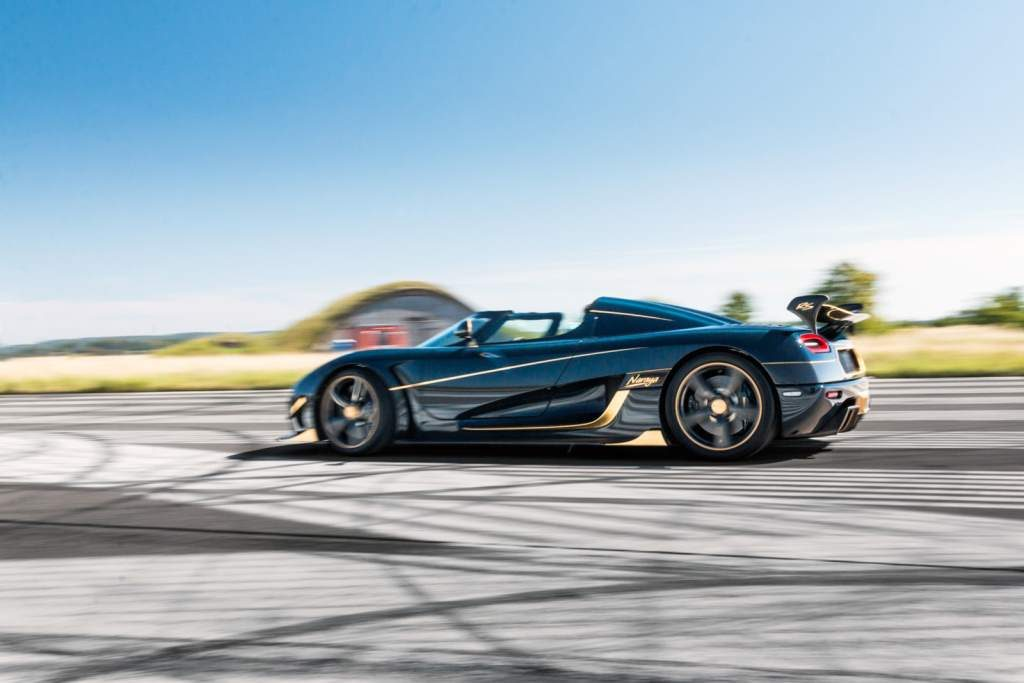Koenigsegg Naraya Side Profile