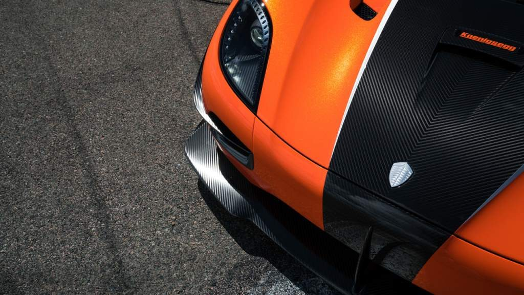 Agera XS Front Lip Splitter