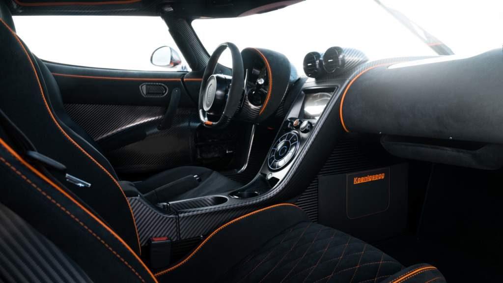 Koenigsegg Agera XS Interior