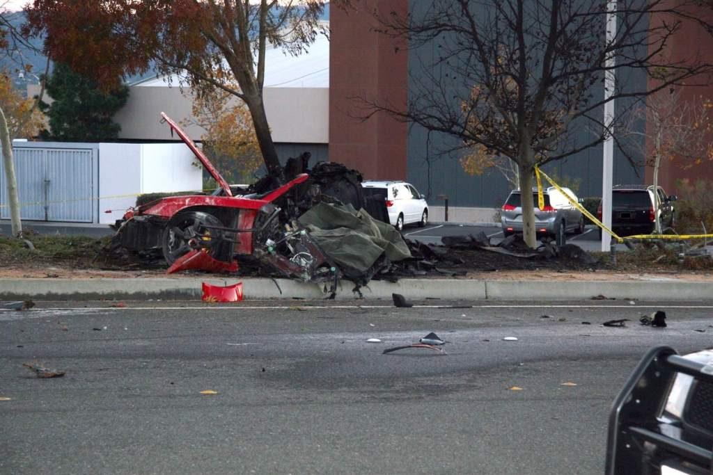 PAUL WALKER's Car Crash