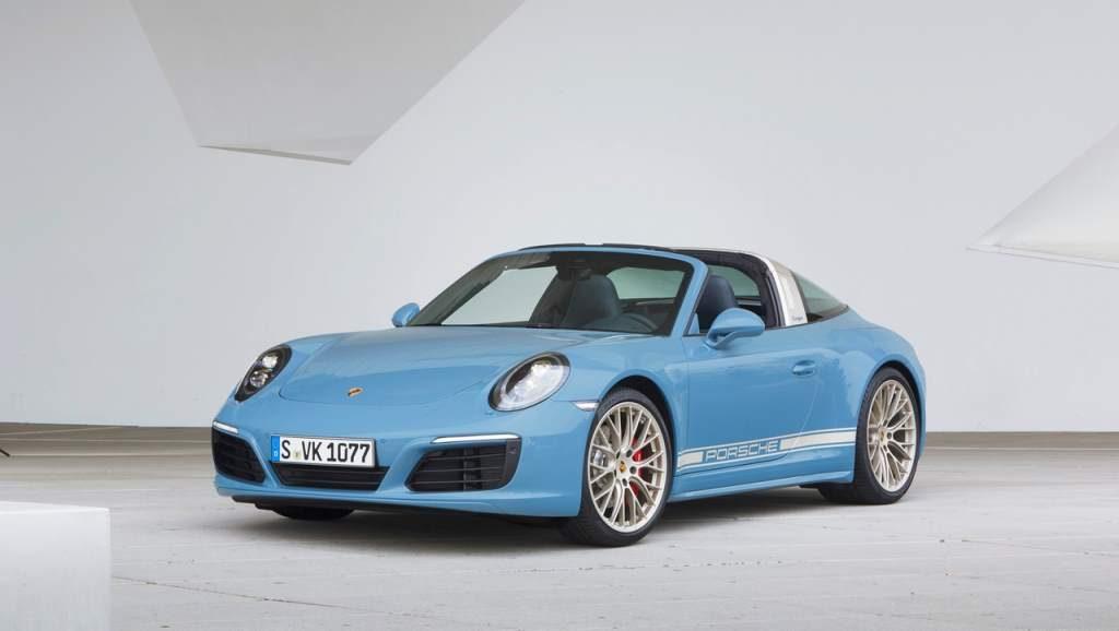 Porsche Targa Exclusive Edition Front 3/4