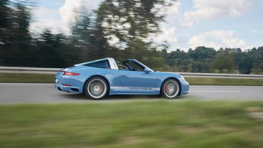 Porsche Targa Exclusive Edition Rear 3/4 Rolling