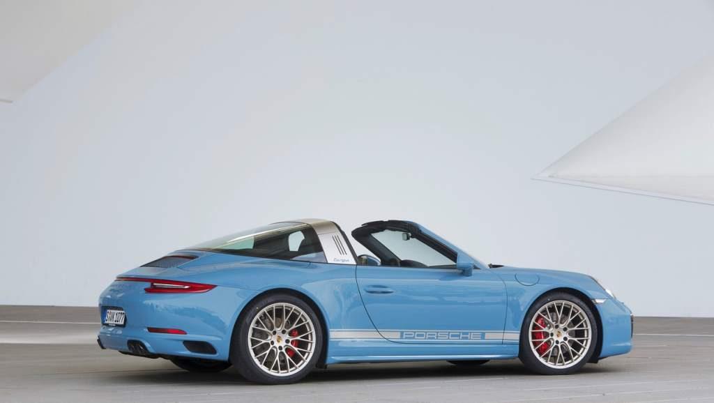 Porsche Targa Exclusive Edition Rear 3/4