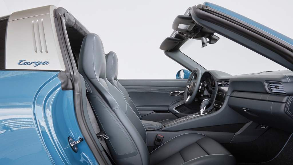 Porsche Targa Exclusive Edition Entrance/Cockpit