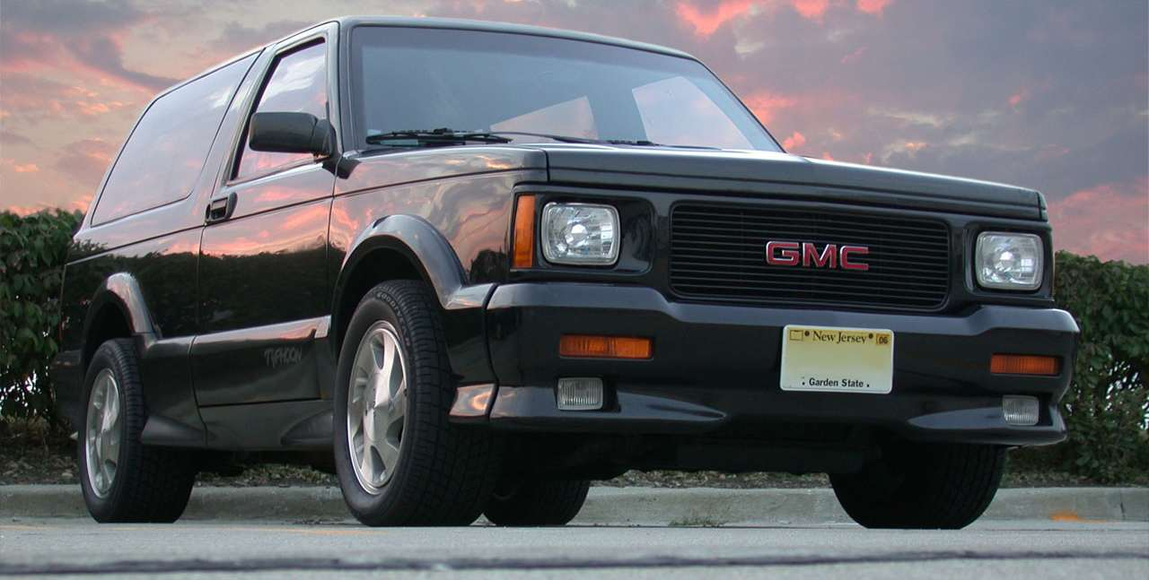 Badass Trucks & Cool SUVs - GMC typhoon