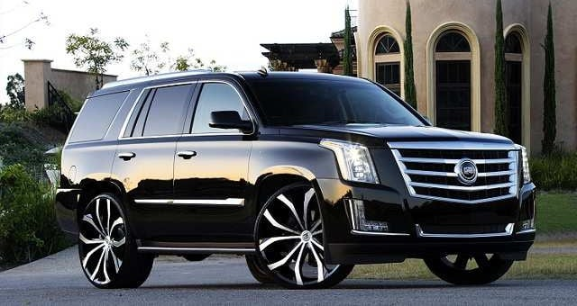 Vehicles Most Likely To Roll Over - Cadillac Escalade