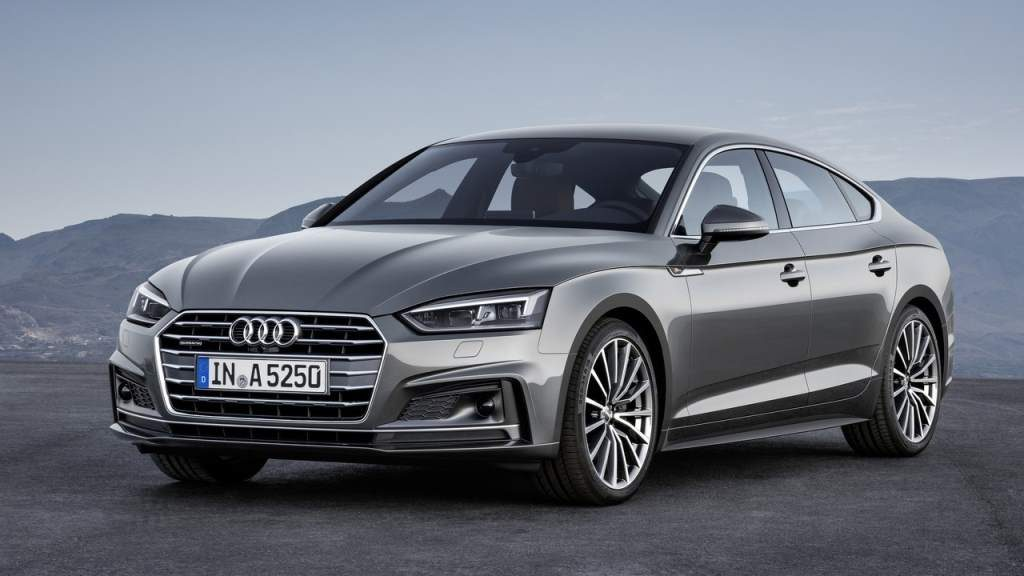 2018 Audi A5 Sportback Front 3/4