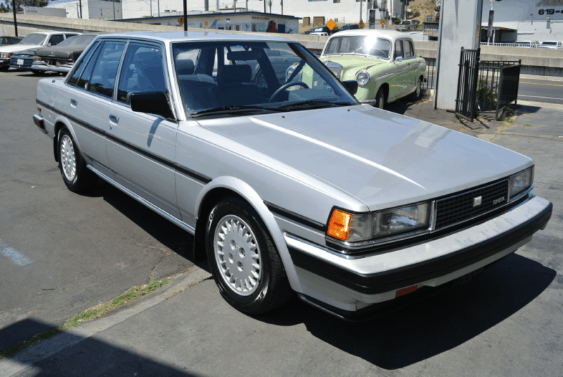 box shaped cars - Toyota Cressida
