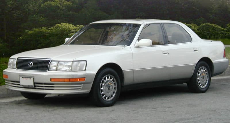 box shaped cars - Lexus LS