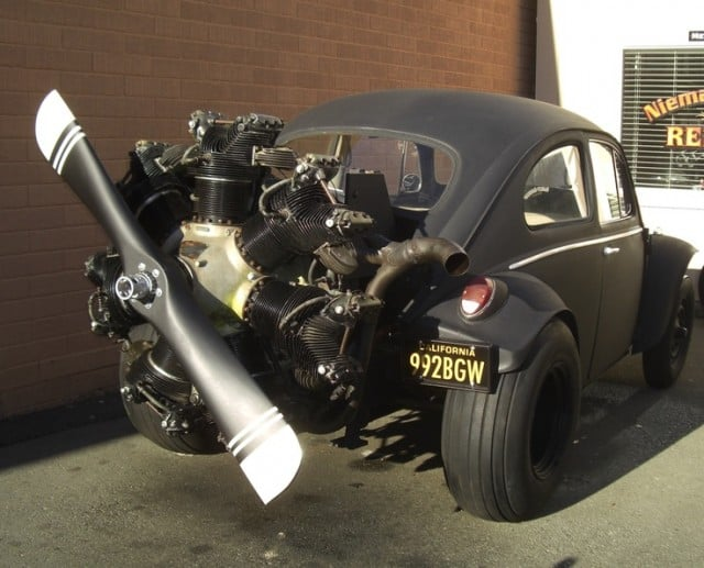 Radial Aircraft Engine Powered VW Type 1