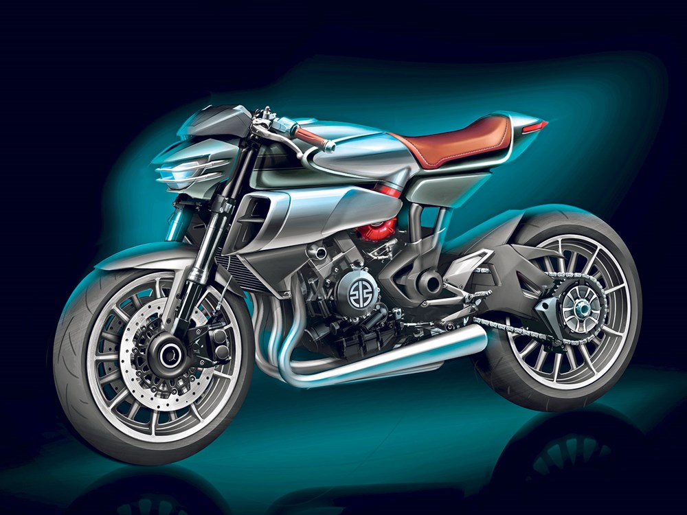 Coming Soon The Z900RS Kawasaki Retro Supercharged Models To Follow