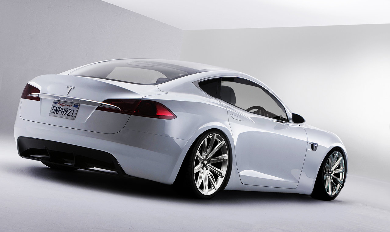 Is There a Widebody Coupe in Tesla's Future?
