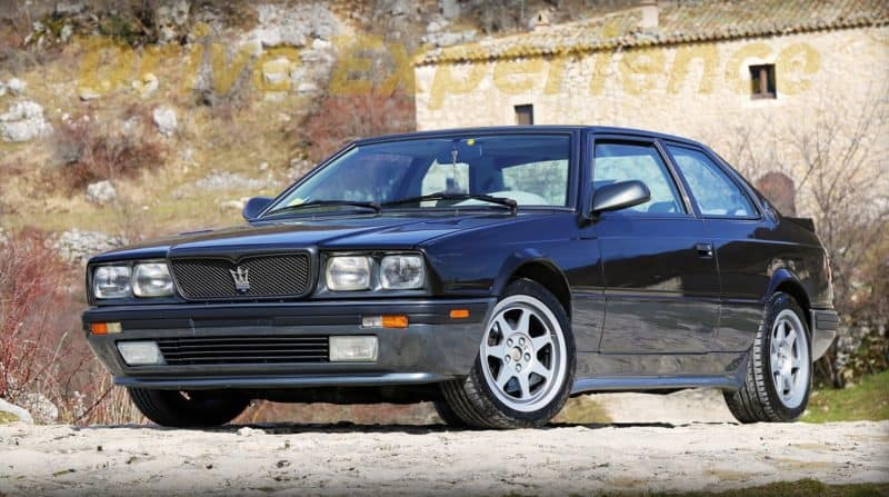 box shaped cars - Maserati biturbo