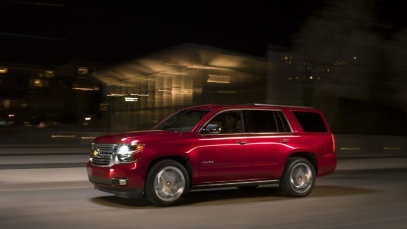 Worst SUVs For Rollovers - Chevy Tahoe