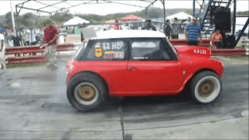 Best Engine Swaps - Mini Cooper V8