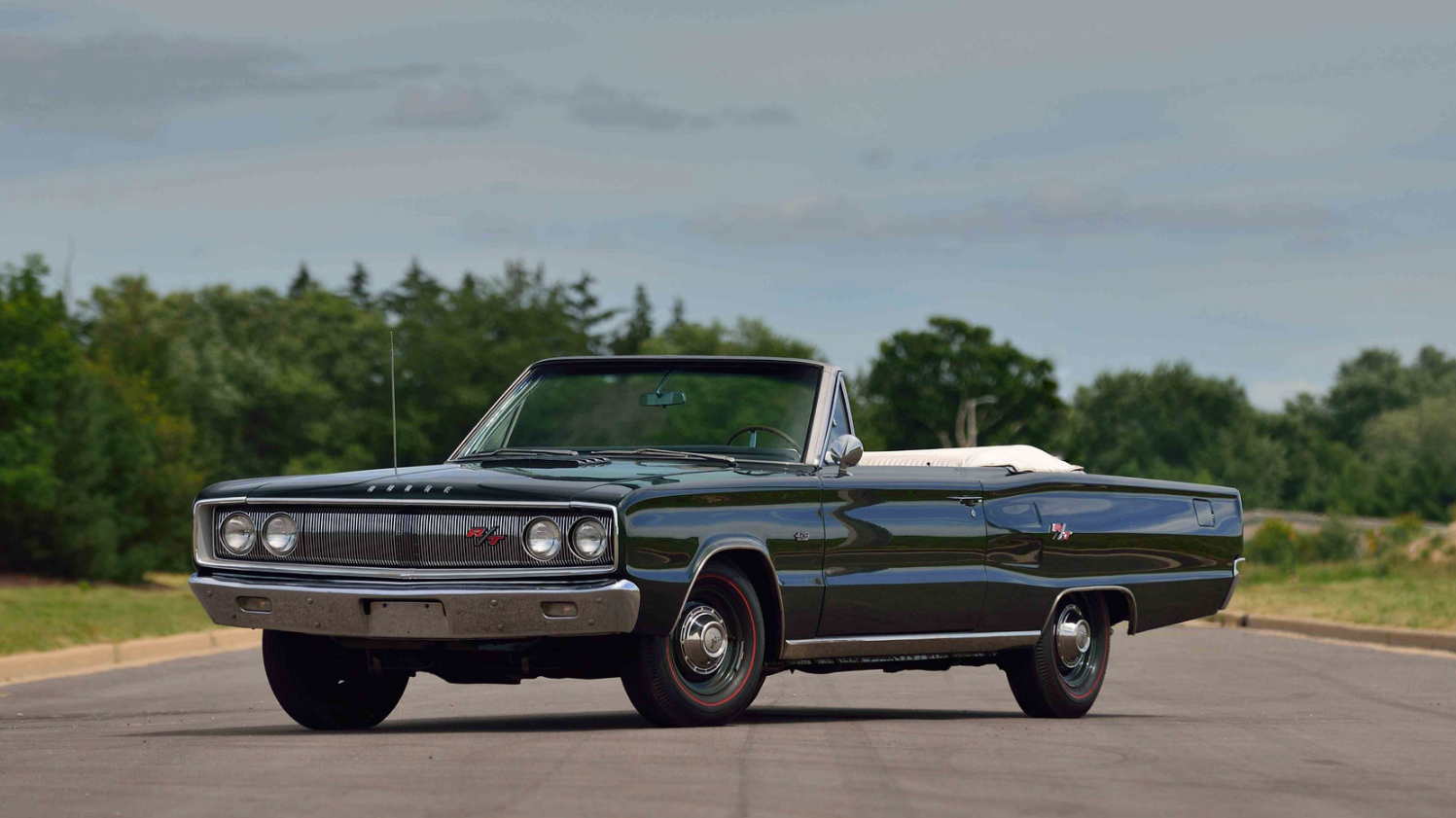 Of The Rarest And Most Powerful Classic Muscle Car Convertibles