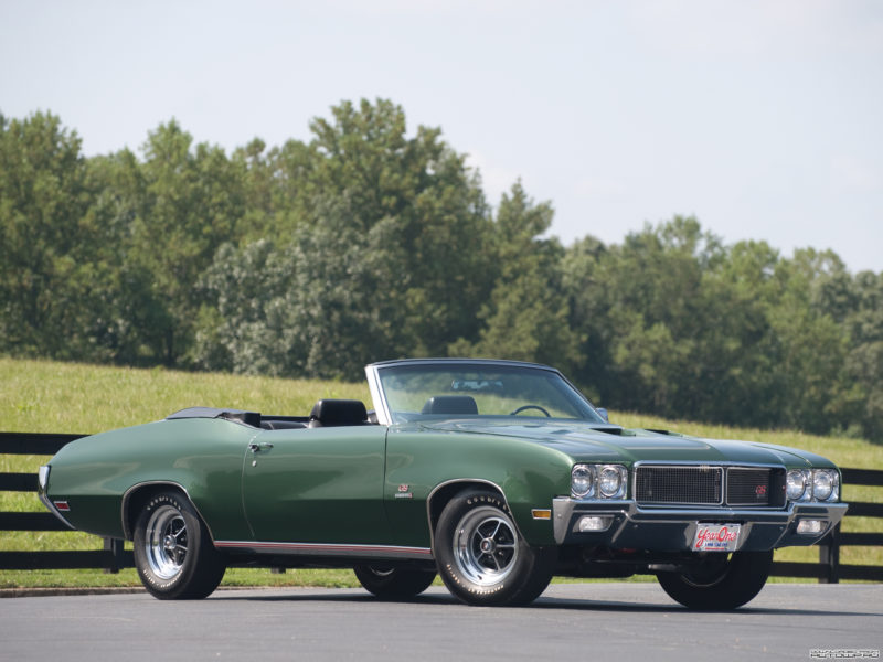1970 Buick GS Stage 1 (3-speed manual)