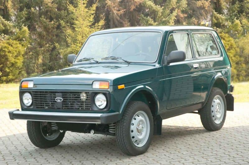 box shaped cars - lada-niva