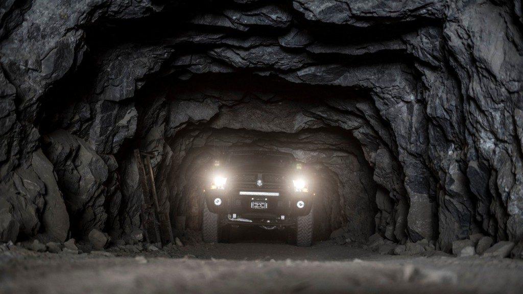 AEV Prospector XL Headlight View