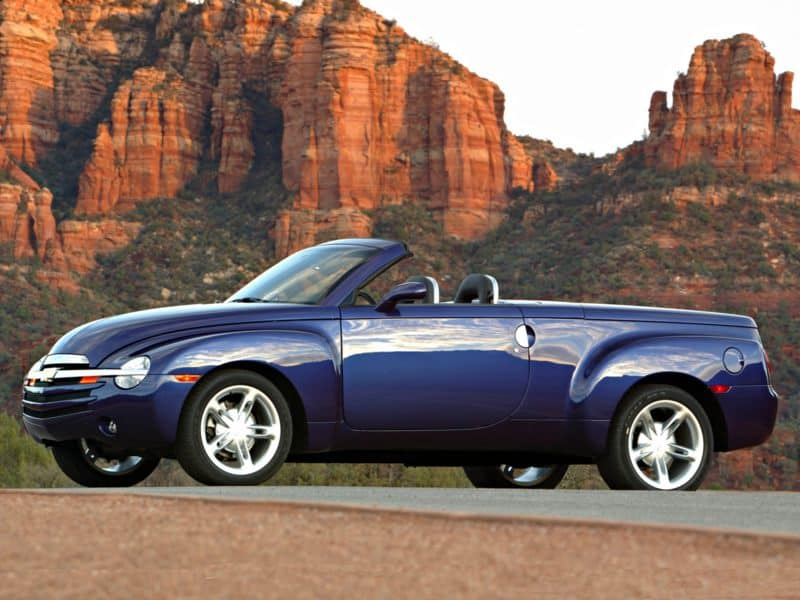 top ten pickup trucks - 2006-chevrolet-ssr